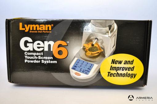 Bilancia bilancina elettronica Lyman Gen 6 touch screen