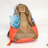 Borsa zaino monospalla Riserva Canvas Idrox con camel bag
