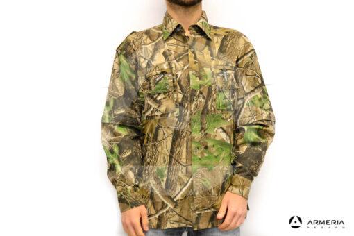 Camicia camo manica lunga Patton taglia M