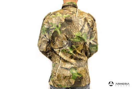 Camicia camo manica lunga Patton taglia M retro