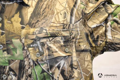 Camicia camo manica lunga Patton taglia M macro