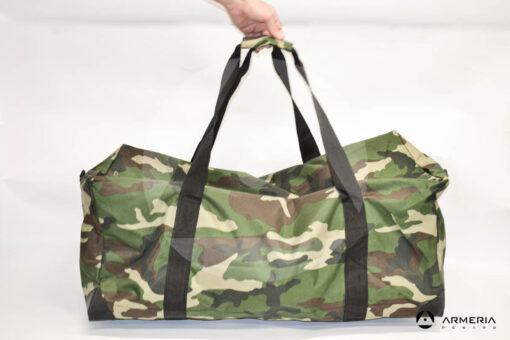 Capiente borsa borsone mimetico Virginia Outdoor retro