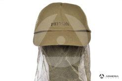 Cappello berretto Patton in cotone con retina anti insetti taglia L - 59 cm
