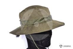 Cappello berretto a falde larghe Barbaric taglia L verde - 57_58 cm lato