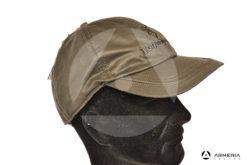 Cappello berretto da caccia Browning Winter marrone imbottito taglia unica lato