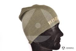 Cappello di lana verde Riserva equipaggiamento caccia taglia unica lato