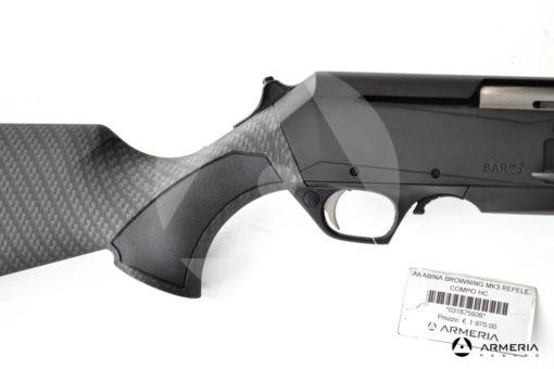 Carabina semiautomatica Browning modello MK3 Reflex Compo HC cal 30-06 mod