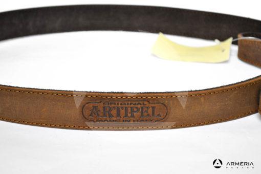 Cinghia Bretella Artipel BR01 regolabile in pelle per carabina modello