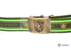 Cintura Trabaldo WTE wildlife technical equipment taglia Unica verde logo