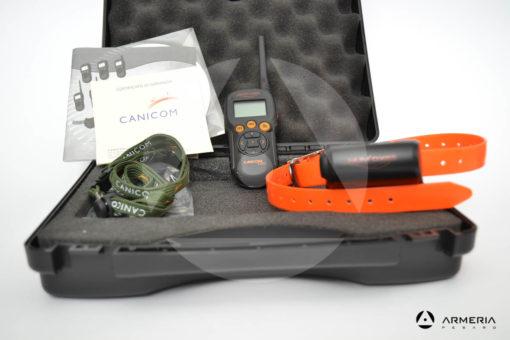 Collare addestramento educativo per cani Canicom 5.800 Num'Axes con telecomando vista 2