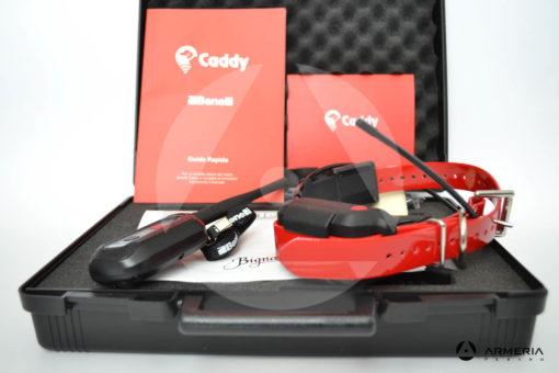 Collare elettronico radio satellitare GPS Benelli Caddy Kit vista 2