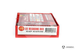 Dies Lee Reloading calibro 45 ACP - 45 Auto Rim - Carbide Die Set - Shell Holder omaggio
