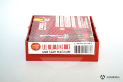 Dies Lee Reloading calibro 500 S&W Magnum - Shell Holder omaggio -0