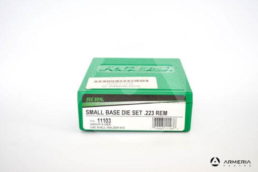 Dies RCBS Small Base Die Set calibro .223 Rem - Gruppo A - #11103-0