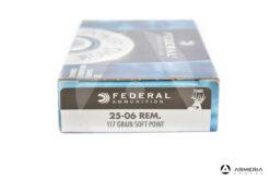Federal Ammunition calibro 25-06 Rem 117 grani Soft Point 20 cartucce
