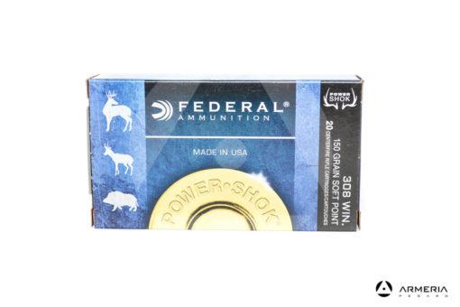 Federal Power Shok calibro 308 Win 150 grani Soft Point - 20 cartucce