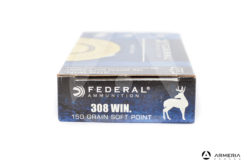 Federal Power Shok calibro 308 Win 150 grani Soft Point 20 cartucce
