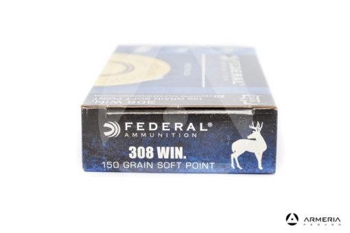 Federal Power Shok calibro 308 Win 150 grani Soft Point 20 cartucce