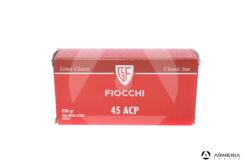 Fiocchi Linea Classic calibro 45 ACP FMJ 230 grani - 50 cartucce