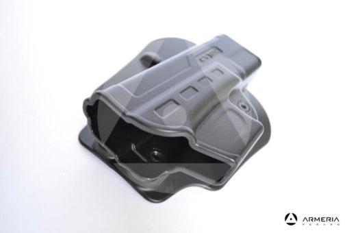 Fondina Cytac CY-FG19 per pistola Glock 19, 23, 32 (Gen 1,2,3,4) in polimero rotabile alto