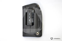 Fondina Vega Holster nera per pistola di difesa personale Umarex Walther PDP Pro Secur retro