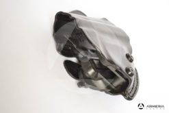 Fondina in cuoio da cintura canna scoperta Vega Holster per pistola Beretta 98 FS lato