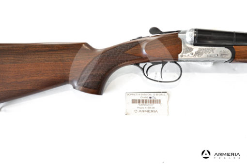 Fucile Doppietta Sabatti modello SABA cal 12 mod