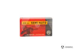 Geco Semi-Auto calibro 22 LR Long Rifle - 40 grani - 50 cartucce