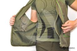 Gilet Riserva da caccia in cotone taglia M con zaino interno