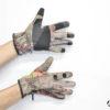 Guanti mimetici Percussion Ghost con dito scoperto taglia M