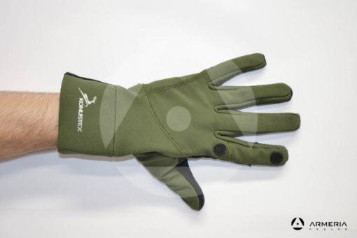 Guanti termici Konustex Ardito con dito scoperto taglia M #0297 dorso