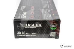 Hasler Expansion Ariete effect calibro 30-06 159 grani 20 cartucce