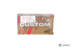 Hornady Custom calibro 308 Win 180 grani Interlock SP - 20 cartucce