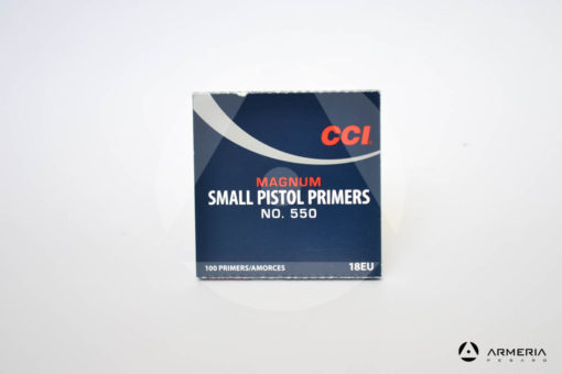 Inneschi CCI Magnum Small Pistol Primers n. 550 - 100 pz - 18EU -0