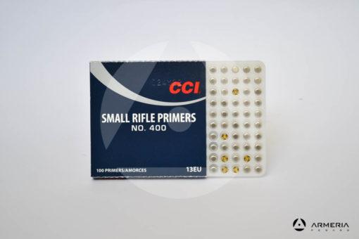 Inneschi CCI Small Rifle Primers n. 400 - 100 pz - 13EU -1
