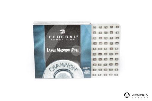 Inneschi Federal 215 Large Magnum Rifle Primers - 100 pz