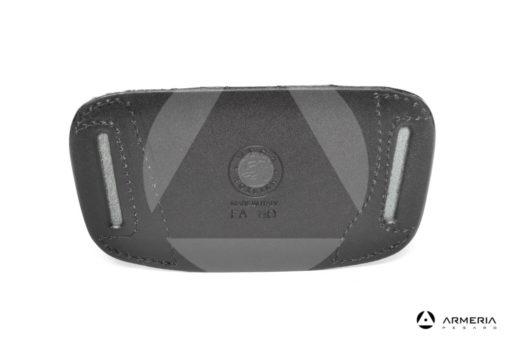 Mezza fondina in cuoio da cintura Vega Holster per pistola LAuto e Compact #FA110