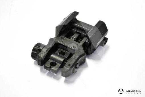 Mira metallica abbattibile frontale CAA per fucile AR e M4