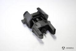 Mira metallica abbattibile posteriore CAA per fucile AR e M4