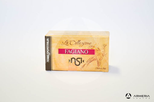 NSI Nobel Sport Italia La Collezione Fagiano calibro 12 - Piombo 7 - 10 cartucce