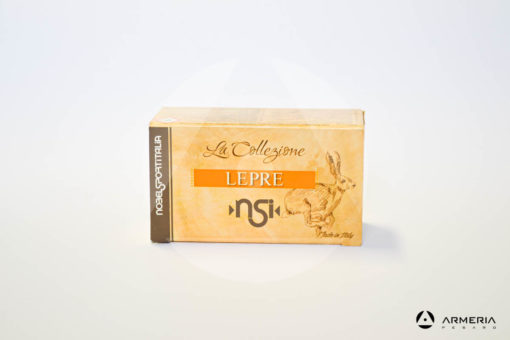 NSI Nobel Sport Italia La Collezione Lepre HP calibro 12 - Piombo 3 - 10 cartucce