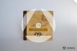 NSI Nobel Sport Italia La Collezione Quaglia calibro 12 - Piombo 10_12 Mix - 25 cartucce fronte