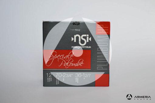 NSI Nobel Sport Italia Speciale Palombe calibro 12 - Piombo 5 - 25 cartucce fronte