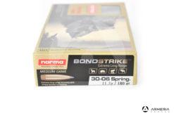 Norma Bond Strike calibro 30-06 Spring 180 grani 20 cartucce