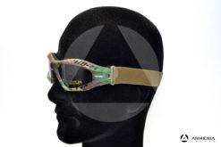 Occhiali tattici militari Virginia Tactical Outdoor Goggle mimetici modello