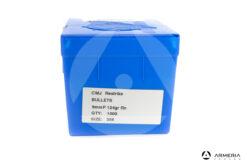 Palle Frontier CMJ Restrike calibro 9mm - 124 grani RN Dia 356 macro