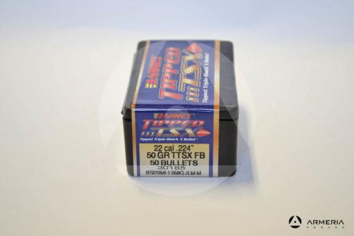 Palle ogive Barnes Tipped TSX calibro 22 .224_ – 50 grani TTSX FB - 50 pezzi -1
