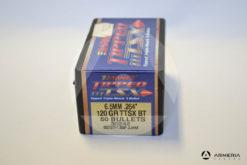 Palle ogive Barnes Tipped TSX calibro 6.5 mm .264_ – 120 grani TTSX BT - 50 pezzi -1
