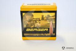 Palle ogive Berger VLD Target calibro 30 - 175 grani - 100 pezzi -0