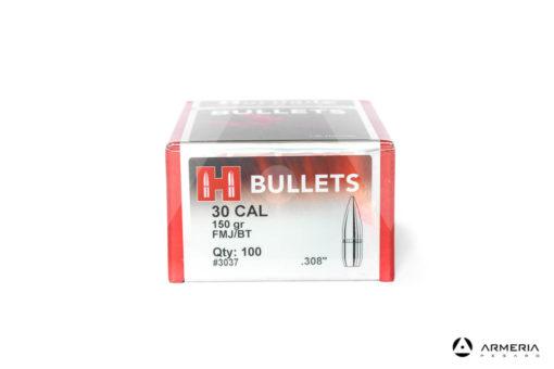 Palle ogive Hornady Bullets calibro 30 - 150 grani FMJ/BT - 100 pz #3037